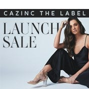 Cazinc The Label Launch Sale