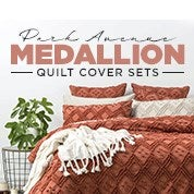 Park Avenue Medallion Quilt Cover Sets