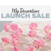 My Decorations Launch Sale