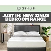 Just In: New Zinus Bedroom Range