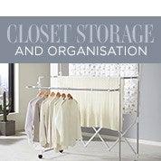 Closet Storage & Organisation Sale