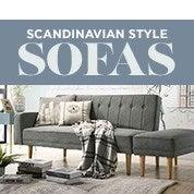 Scandinavian Style Sofas