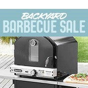 Backyard Barbecue Sale
