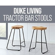 Special Presale Offer: Duke Living Tractor Bar Stools