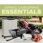 Spring Gardening Essentials