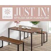 Zinus Just In! Stylish New Furniture