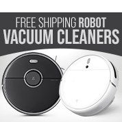 Free Shipping Robot Vacuum Cleaners