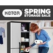 Keter Spring Storage Sale