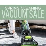 Spring Cleaning Vacuum Sale