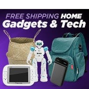 Free Shipping Home Gadgets & Tech