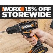WORX 15% Off Storewide