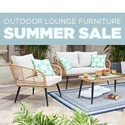 Outdoor Lounge Furniture Spring Sale