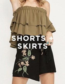 Shorts + Skirts