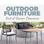 Outdoor Furniture End of Season Clearance