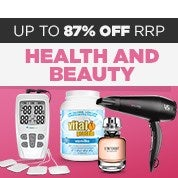 Click Frenzy Health & Beauty Sale