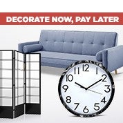 Decorate Now, Pay Later