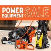Power Equipment Sale