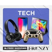 Free Shipping Frenzy: Tech