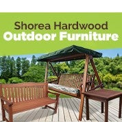 Shorea Hardwood Outdoor Furniture