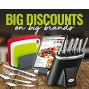 Big Brand Savings: Knives, Cutlery & More