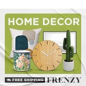 Free Shipping Frenzy: Home Decor