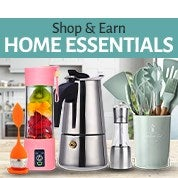 Shop & Earn Home Essentials Sale