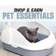 Shop & Earn Pet Essentials