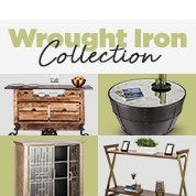 Wrought Iron Collection Up To 70% Off RRP