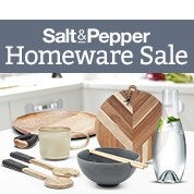 Salt & Pepper Homeware Sale