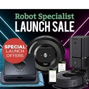 Robot Specialist Launch Sale