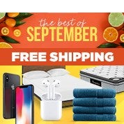 Best of September: Free Shipping
