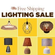 Free Shipping Lighting Sale