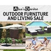 Alices Garden Outdoor Furniture & Living Sale
