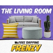 Free Shipping Frenzy: The Living Room