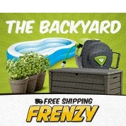 Free Shipping Frenzy: The Backyard
