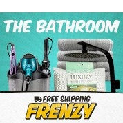 Free Shipping Frenzy: The Bathroom