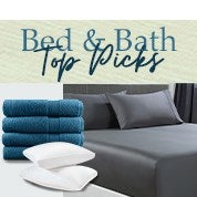 Bed & Bath Top Picks