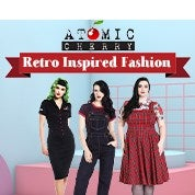 Atomic Cherry Retro Inspired Fashion