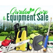 Garden Care & Equipment Sale