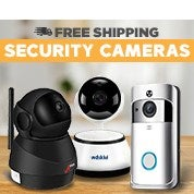 Free Shipping Security Cameras