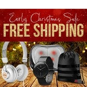 Early Christmas Sale: Free Shipping