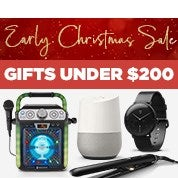 Early Christmas Sale: Gifts Under $200