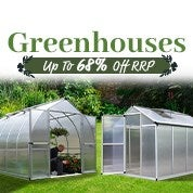 Greenhouses Up To 68% Off RRP