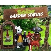 Solar Garden Statues