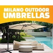 Milano Outdoor Umbrellas