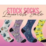 Stock Socks Launch Sale