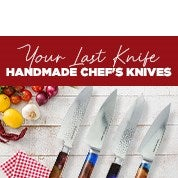 Your Last Knife Handmade Chef's Knives