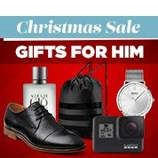 Christmas Sale: Gifts for Him