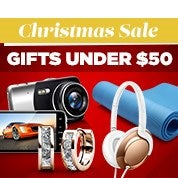 Christmas Sale: Under $50