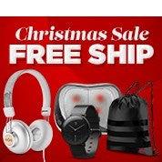 Christmas Sale: Free Shipping